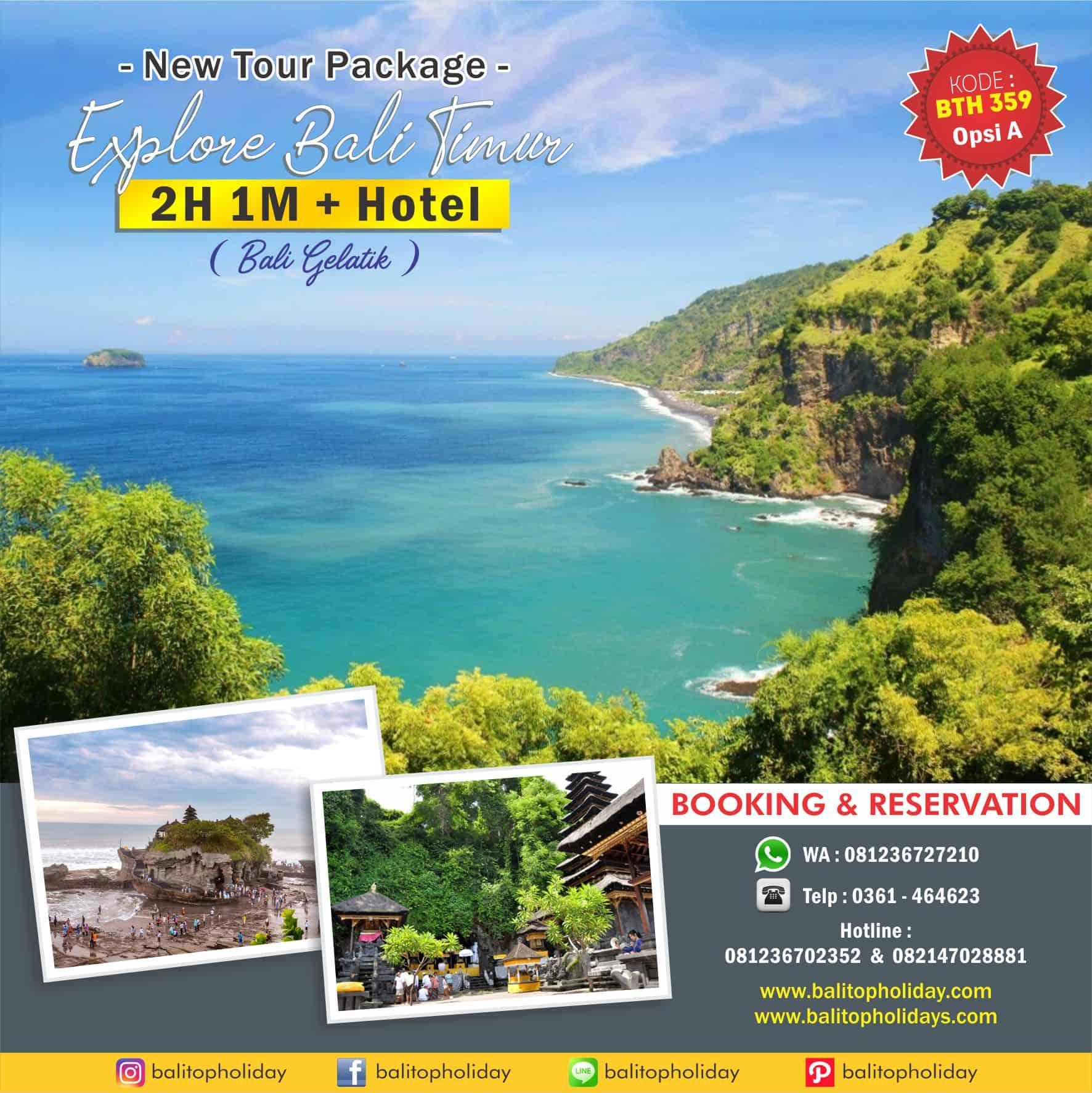 Paket Tour Bali 2H 1M Bali Timur