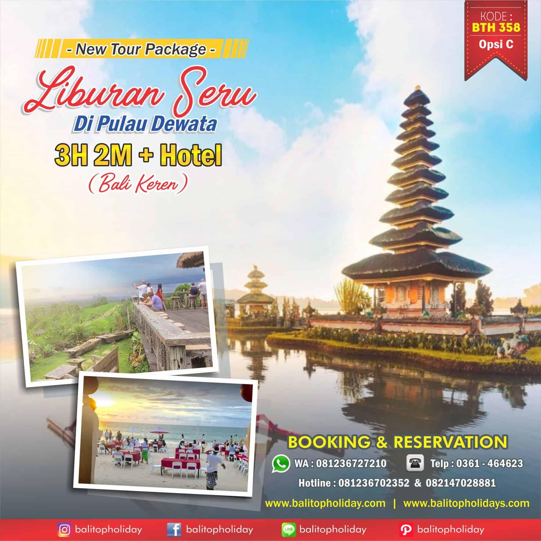 Paket Tour Bali 3H 2M