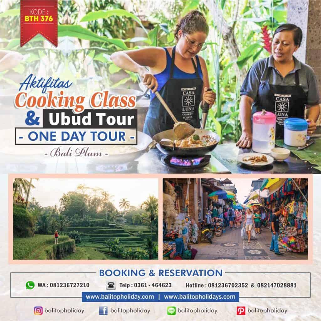 Tour Ubud & Cooking Class
