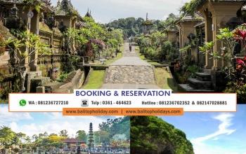 Paket tour bali 2 Hari tanpa hotel Bali Timur Bali Kerkwak